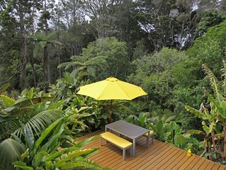 Happy chic jungle retreat, great location