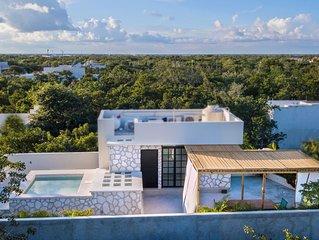 Aldea Zama, rooftop and bikes inc, 2 bedroom condo