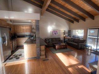 Updated Condo w/Fireplace, BBQ, Deck Community Hot Tub, Rec Room (LVC0899)