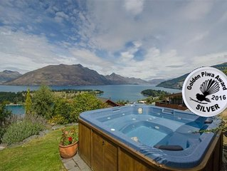 LAKEVIEWS FROM SPA;  PANORAMIC, CLOSE TO TOWN, EN SUITES, SKI-FIELDS, AVAILABLE
