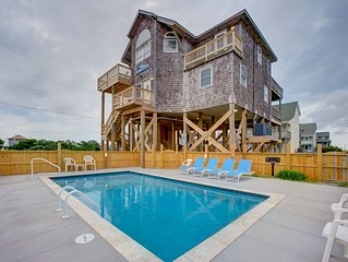 Wave Breaker - Spotless 5 Bedroom Oceanside Home in Rodanthe