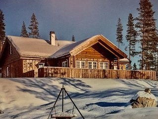 Very nice  mountain cabin, ski in/out