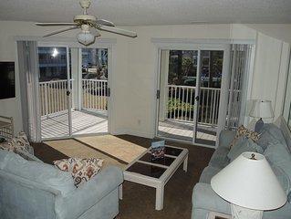 Full Kitchen, 2 Bedroom, 2 Bath at Brunswick Plantation and Golf.  Short drive t