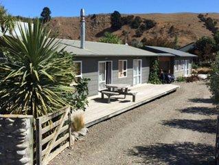 Hurunui River Lodge - tranquil coastal setting