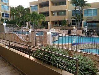 Vistas de la Bahia garden, WiFi, fully airconditioned, pool, balcony