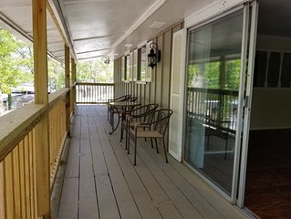 Great house rental with lake access and beautiful views