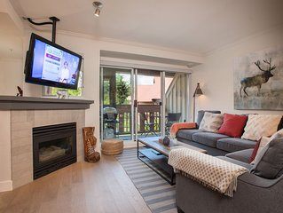 Beautifully Updated 2BDR Townhome With Private Hot Tub | Stones Throw from Whist