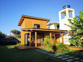 EcoHouse Campeche, a 100 metros da praia