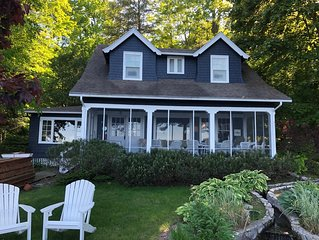 Charming Lakefront Cottage in one of the best locations on Burt Lake