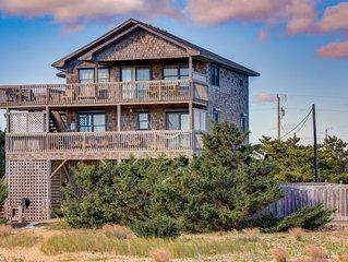 Dakota Dunes - Solid 5 Bedroom Oceanfront Home in Salvo