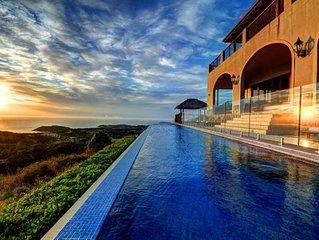 Villa Vivante private with amazing ocean views