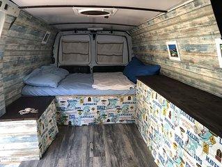Beautiful beach style camper van