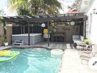 Brickell entire House best area in miami
