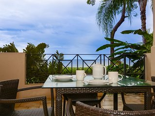 Beachfront Condo-Just Steps from the Surf-Ground Level 3 Bed 3 Bath-Sol Y Mar 2C