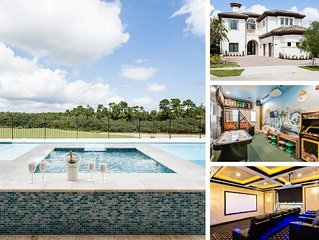 W231- 7 Br Luxury Villa With Pool Overlooking Golf