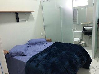 Quarto Suite com banheiro privativo novo muito conforto