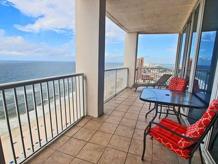 Island Tower 2203-Sunshine and Great Rates! Book Your Memorial Day Stay