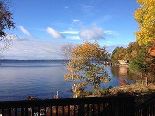 RENOVATED Spectacular 4 bedroom Lake Muskoka cottage