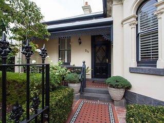 Large Luxury Victorian Villa - Inner City Location close to city and MCG