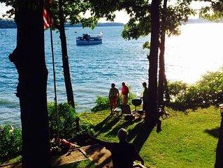 Cozy home nestled on Skaneateles Lake, Finger Lakes of Central NY