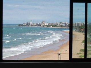 Apartamento à beira-mar Condomínio Ritz Suítes (AP 711)