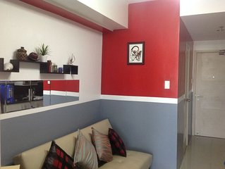 1 Bedroom with balcony, fully furnished condo, walking distance to Mall of Asia