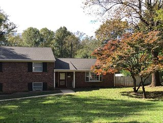 Family Retreat with Pool, 1 Mile from Liberty University