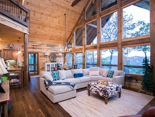 Looking for a peaceful and relaxing Mountain View cabin, look no further.