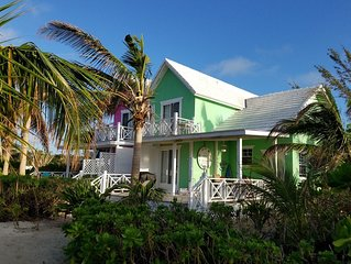 Paradise on miles of white sandy beach and turquoise sea, private and secure.