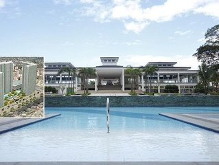 Fully furnished condo * lovely area close to transport & bridge access to malls