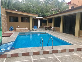 HERMOSA PALMS #51: 3  BR, 3  BA House in Garabito, Sleeps 10