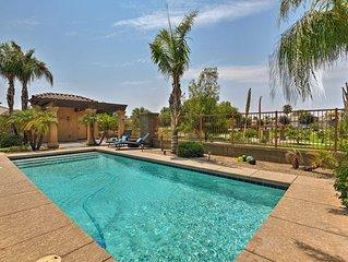 Luxury Litchfield Park Home w/ Private Lap Pool!
