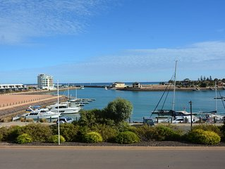 New 4 bedroom home, sleeps 10 located in the Marina with Awesome Views