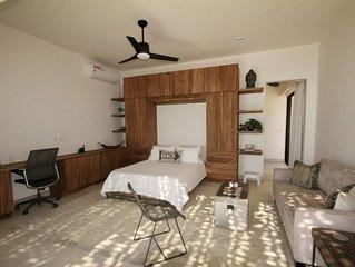 Beautiful Private 1 Bedroom Beachfront Casita
