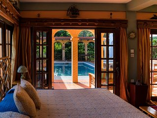Turtleback Pavilion - Gorgeous Grenada Vacation Villa for 2 with Private Pool