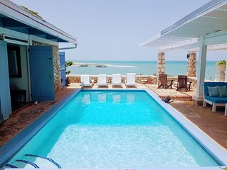 Lyric Villa family friendly home on the sea with a pool and chef included