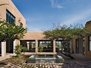 Luxury Villa with Hot Spring Pool, Stunning Views & Daily Van Service