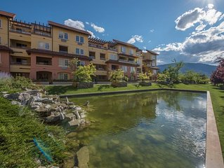 Osoyoos lakefront townhouse. Located in the quiet community of Casa Del Lago.