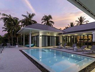 Luxury Sea View 4 Bedrooms Private Villa
