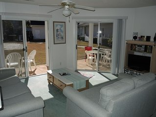 Beautiful Ground Floor Two Bedroom Condo just steps from the Pool!