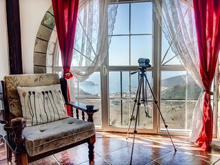Villa Nera With Pool and Sea View