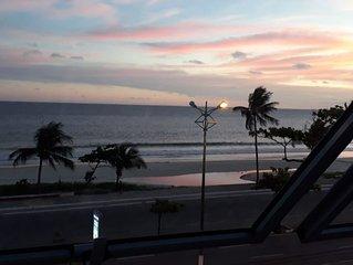 Charme no centro da cidade com vista para o mar