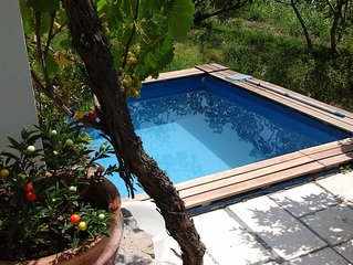 Village isolated peaceful with pool , You are the only guests in the house !