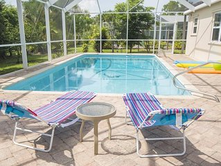 Enjoy this Tropical Island Home - Grill on the Lanai while enjoying a swim in th