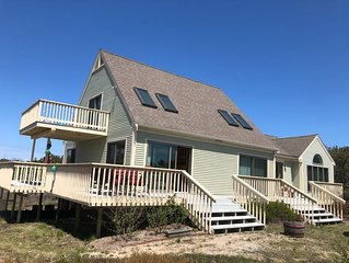 REDUCED FALL RATES!!!! WALK TO BEACH-LARGE AND SERENE  HOME ON PRIVATE ROAD