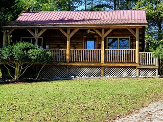 Blue Mountain Cabin is perfect Bryson City or Cherokee Cabin Rental for you!