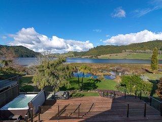 An exclusive and luxurious Lake Okareka destination