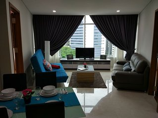 5mins to KLCC/KL City 'CENTRAL' Spacious 3 bedroom