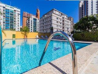 Excellente Flat in Savassi, 50m Pça da Liberdade em Belo Horizonte/MG