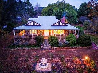 5 Star. Oakhill House Entire Estate Gourmet Festival Region